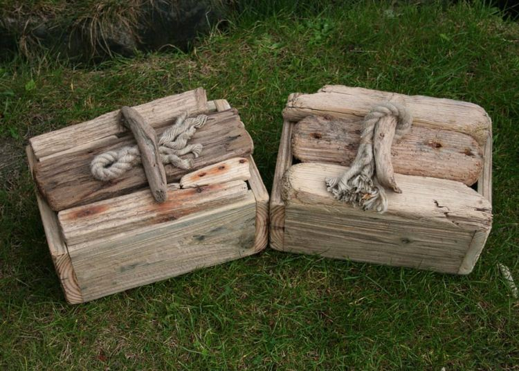 Driftwood Boxes