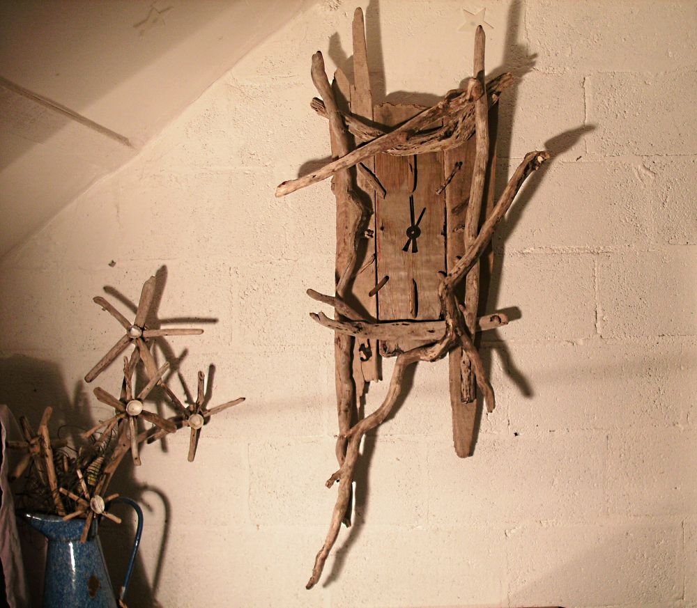 Clock driftwood clock amipublicfo Image collections