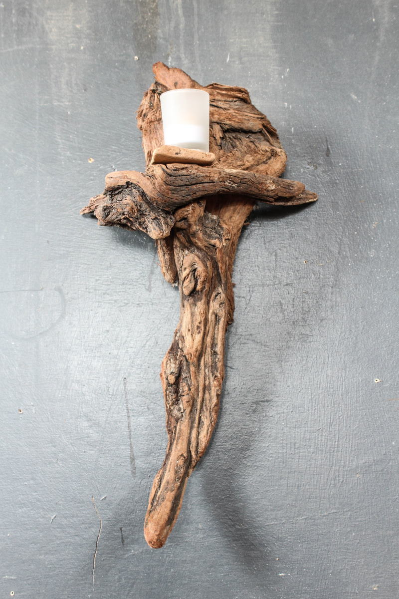 Driftwood Candle Holder 4