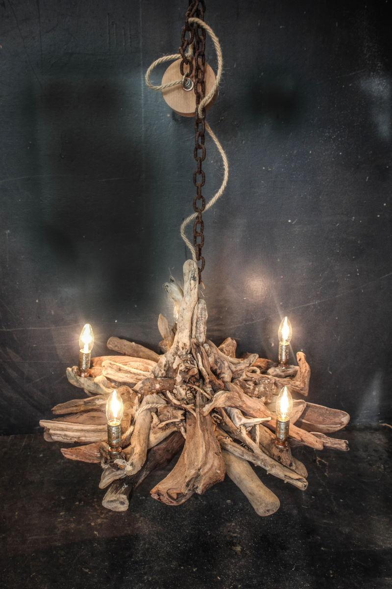 Driftwood Chandelier Diy