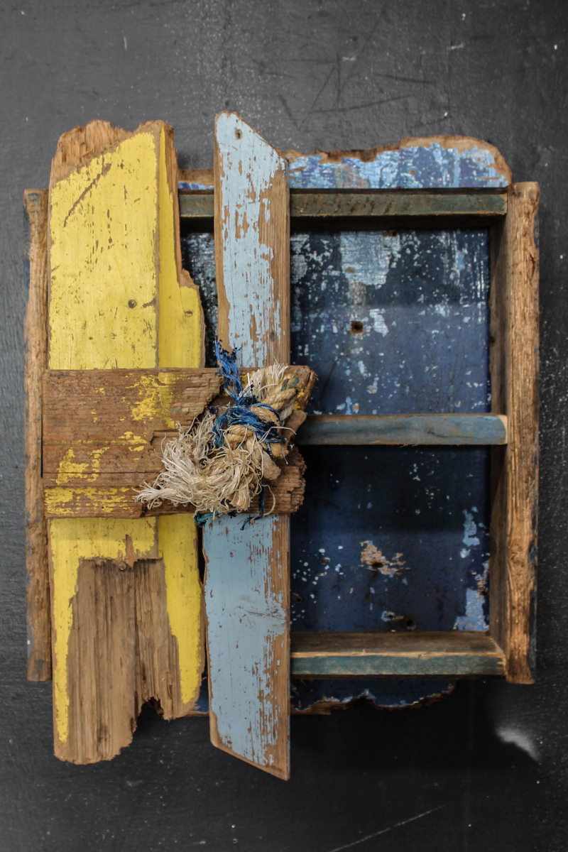 Driftwood Wall Cabinet